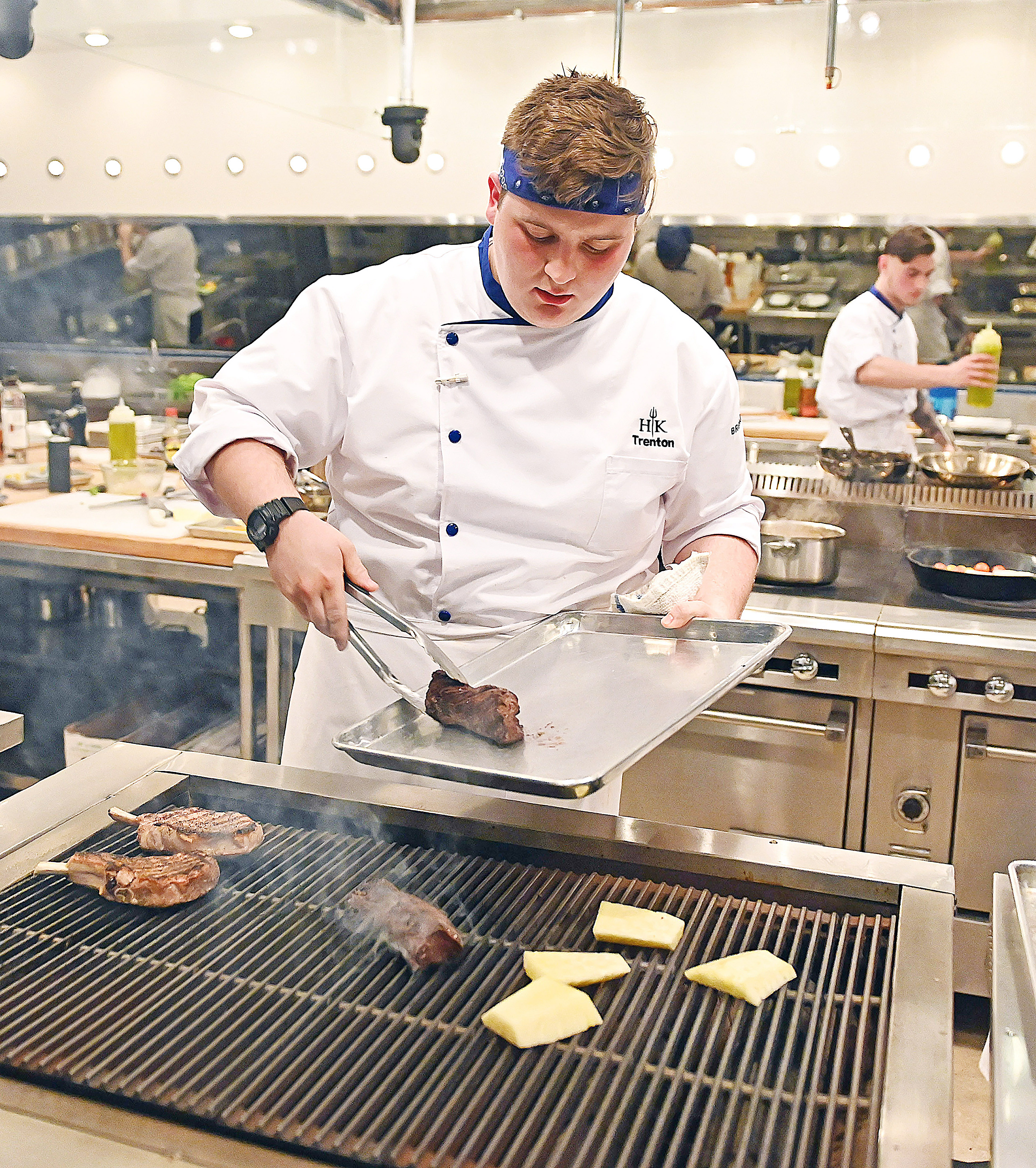 East Central College Alum Trenton Garvey Heads To Hell S Kitchen Features People Emissourian Com