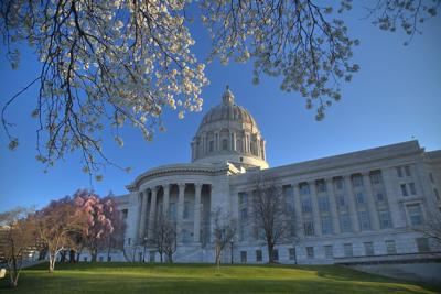Missouri Capitol Building in Jefferson City