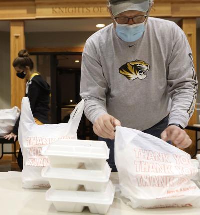 Mike Brinker bags dinners