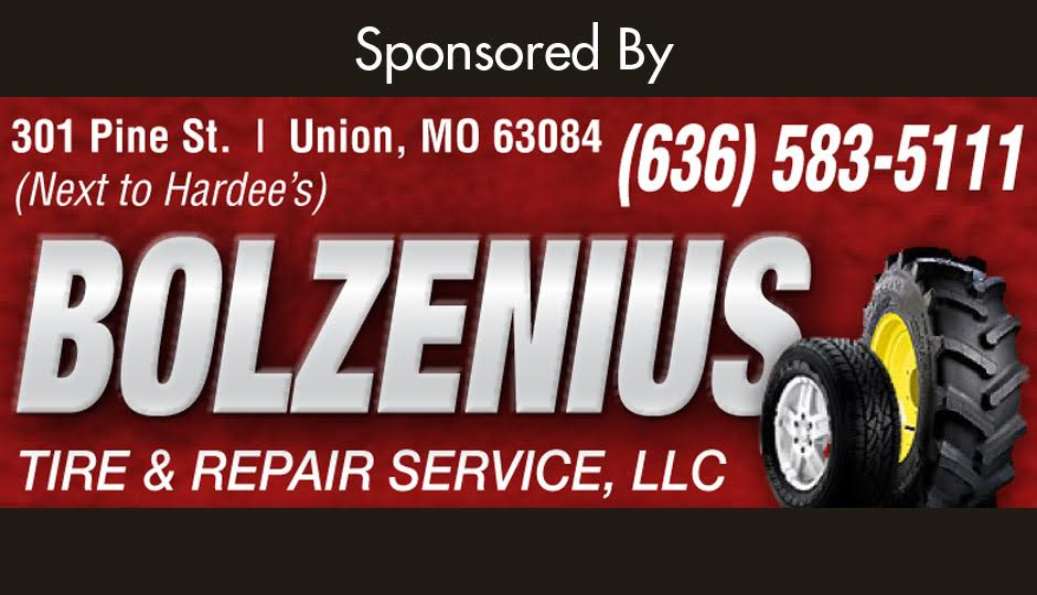 Bolzenius Tire Gallery Sponsor 2017