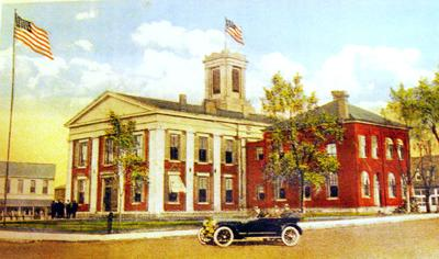 Franklin County Courthouse, Union, Built in 1840s