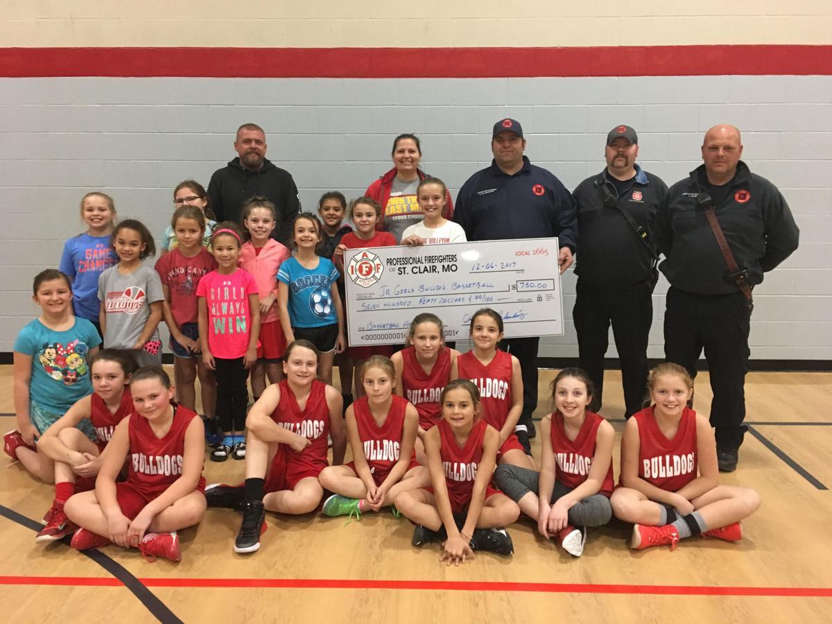 Donation to Girls Basketball