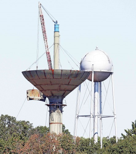 Water Tower Construction Continues