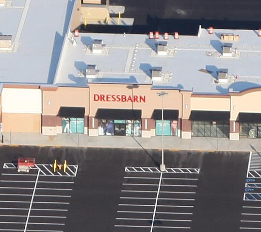 Dress Barn aerial photo