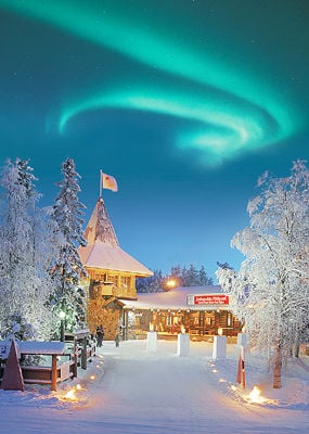 Santa's Village at the Arctic Circle, Finland