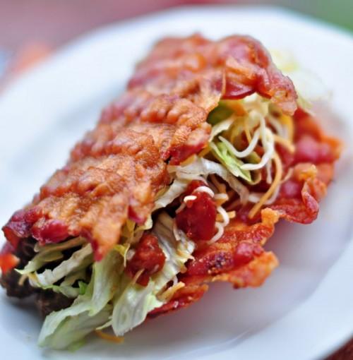 Bacon Taco