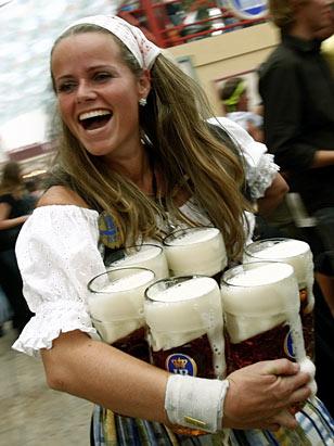 Oktoberfest Begins with Beer!