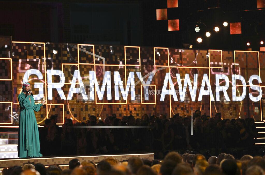 Grammy Awards -- Alicia Keys