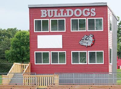 Bulldog Press Box