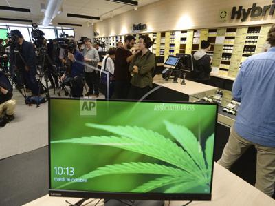 Canada Legalized Marijuana
