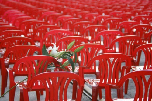 Red Chairs for Bosnia