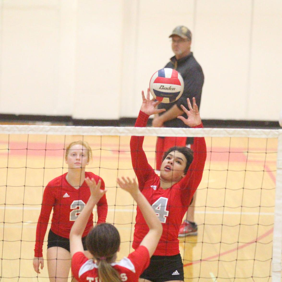 Volleyball — St. Clair vs. St. James