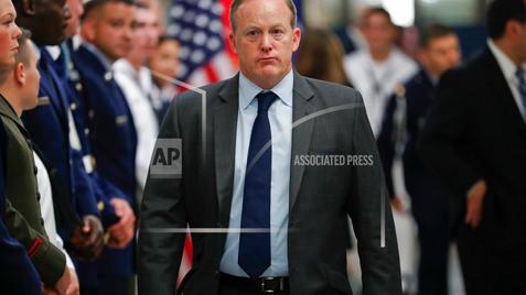 Spicer resigns as White House press secretary