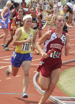 Lady Knights Run to All-State Medal in 3,200-Meter Relay