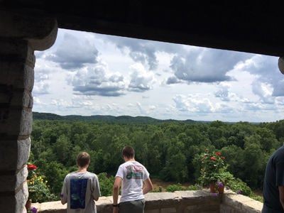 Looking Out Over Meramec