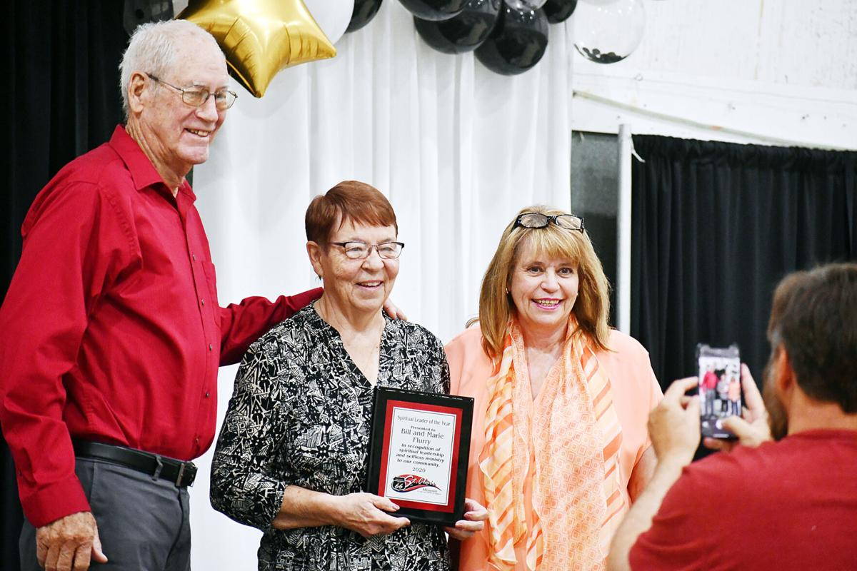 St. Clair Chamber of Banquet honors Marie and Bill Flurry
