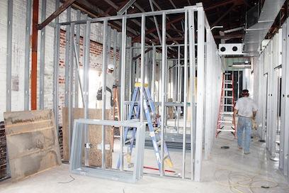 Health Department Construction
