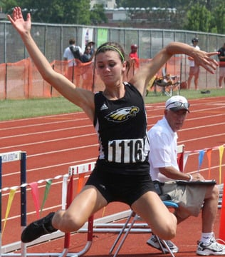 Bartolotta Wins Four Medals, Places Second in Triple Jump