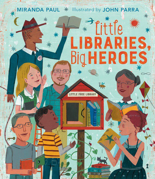 """Little Free Libraries, Big Heroes"""