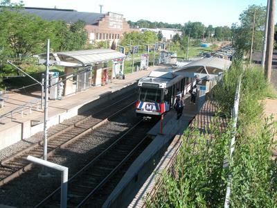 Delmar Loop Metro Station