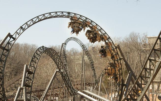 Worlds Fastest Tallest Spinning Roller Coaster Opens At Silver Dollar City Taste Of Travel Emissourian Com