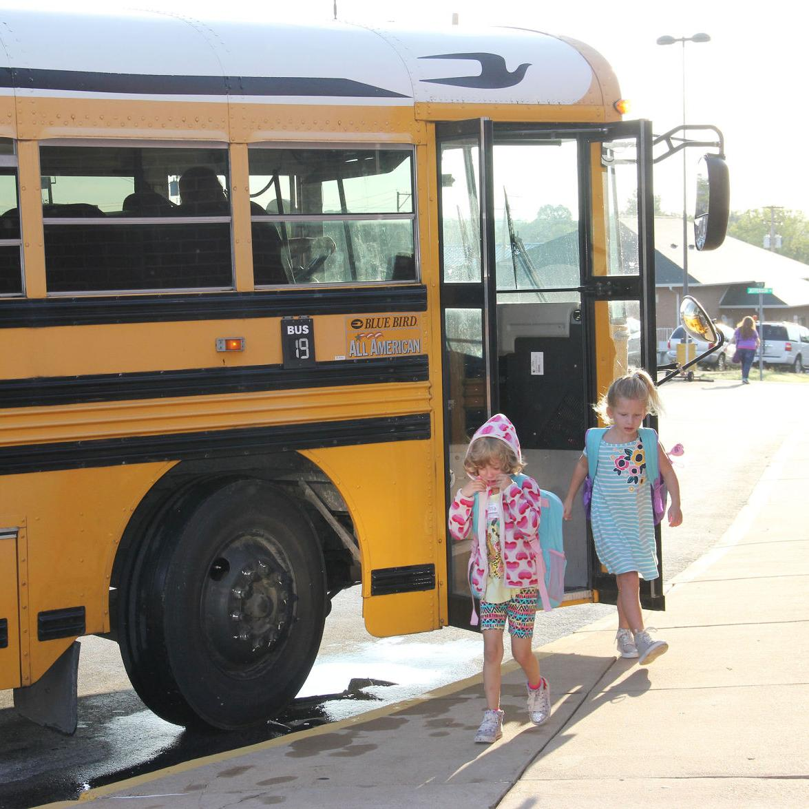 Central Elementary First Day of School