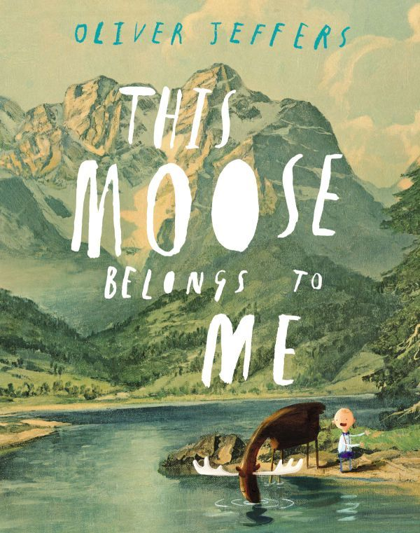 "Book Buzz Middle Pick, ""This Moose Belongs to Me"""