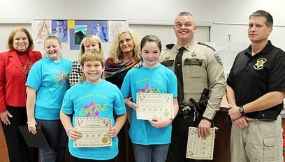 D.A.R.E. Regional Competition Winners