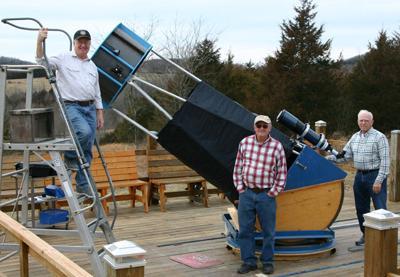 Big Blue Telescope, Observatory