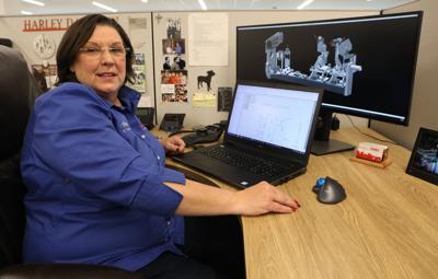 Betty Davis works at Melton Machine & Control Co.