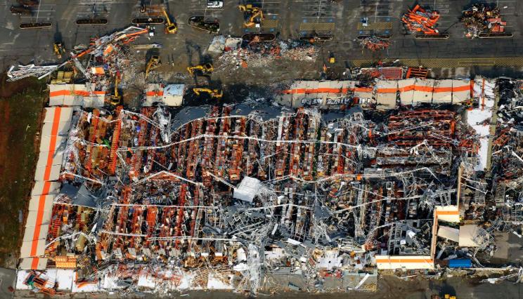Home Depot after Joplin EF5 Tornado