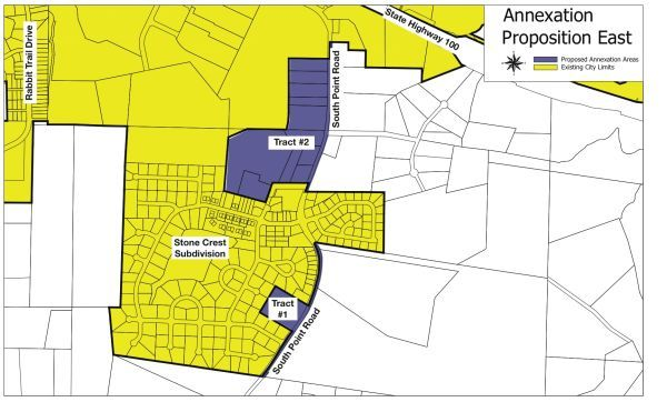 East Annexation Map