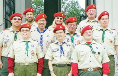 Red Beret Color Guard