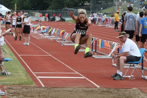Sullivan S Ritter Wins Long Jump Title Claims Four State