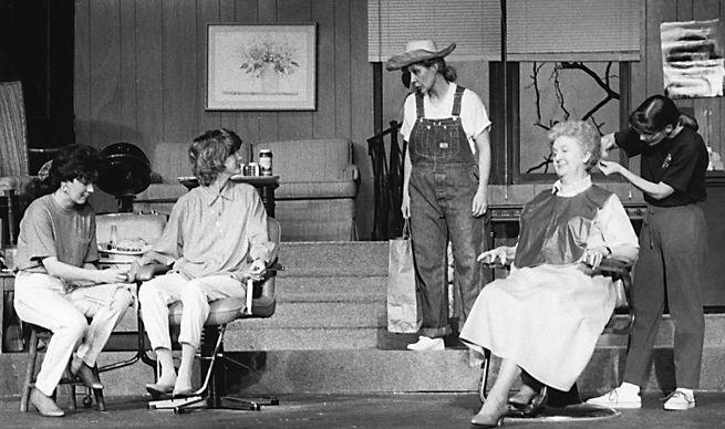 """""""Steel Magnolias"""" at ECC Theater in 1992"""