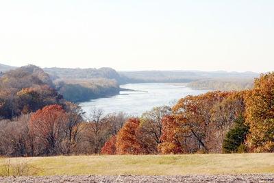 Missouri River View West of Washington