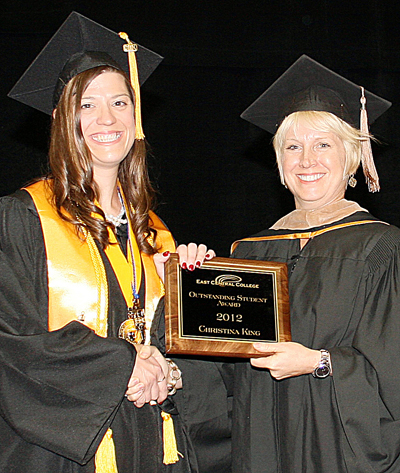 Christina D. King - Outstanding Student