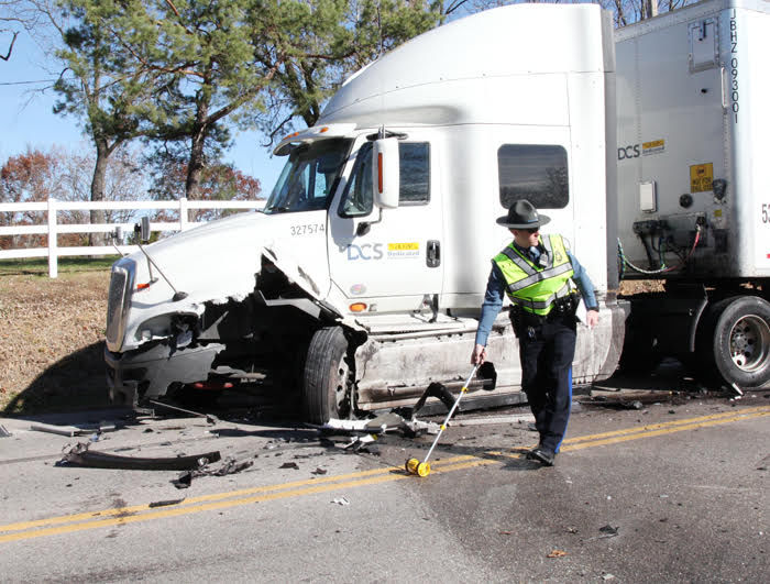 Highway 100 Crash 11-20-17