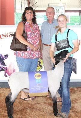 Market Lamb Grand Champion