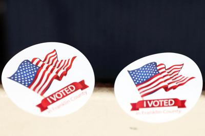 'I Voted' Stickers Are Readied For Voters (copy)
