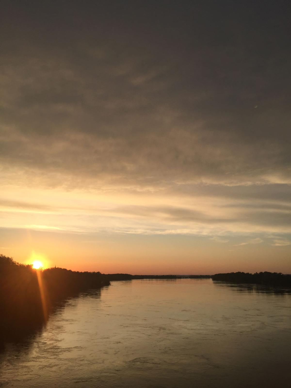 Sunset from Mo River Bridge
