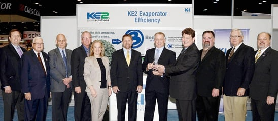 KE2 Therm Solutions Recognized