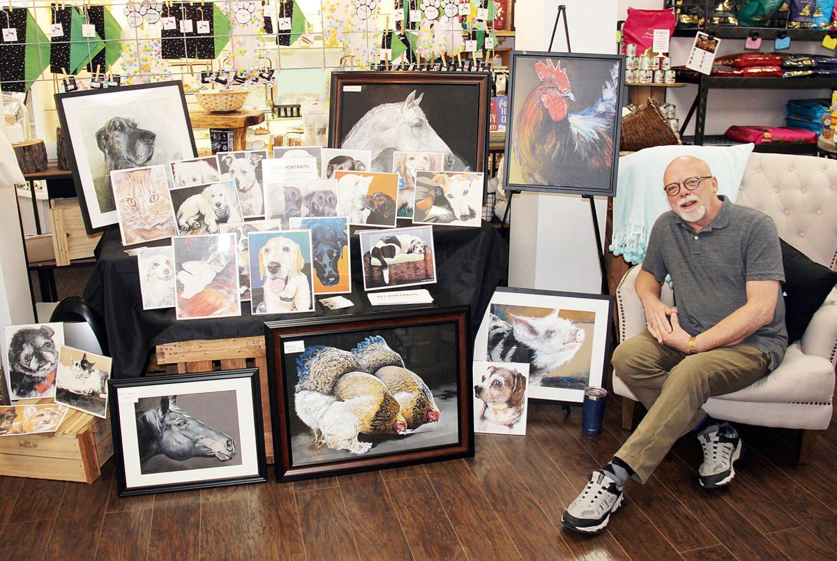 Bert VanderMark at Washington Art Walk
