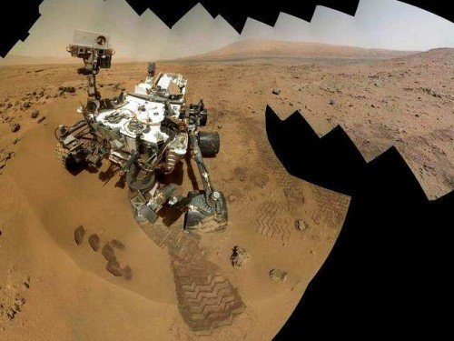 NASA Curiosity Rover