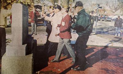 Korean War Veterans Memorial dedication 1995