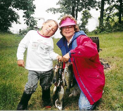 Ben Strake and Mom Sue Bierbaum