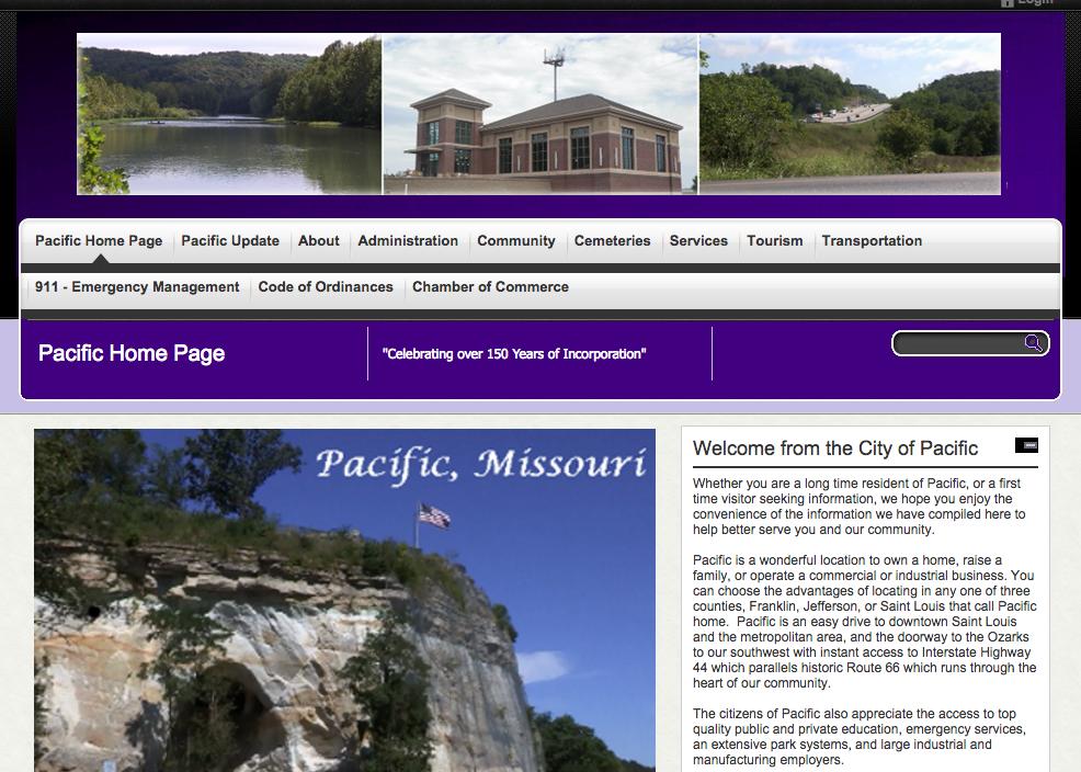 Pacific Website