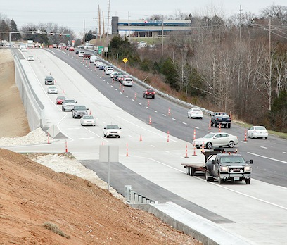 New Lanes Opened