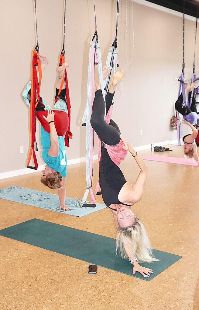 Present Moment Yoga Trapeze Class