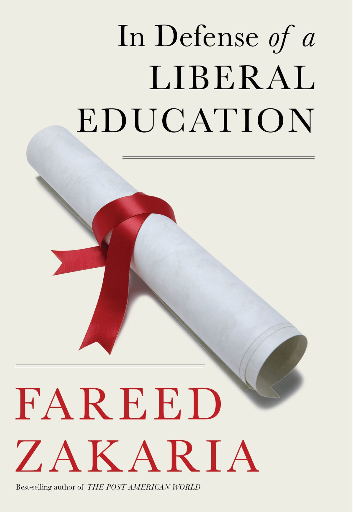 """""""In Defense of A Liberal Education"""" Audio Recording and Book, Quite Well Done"""
